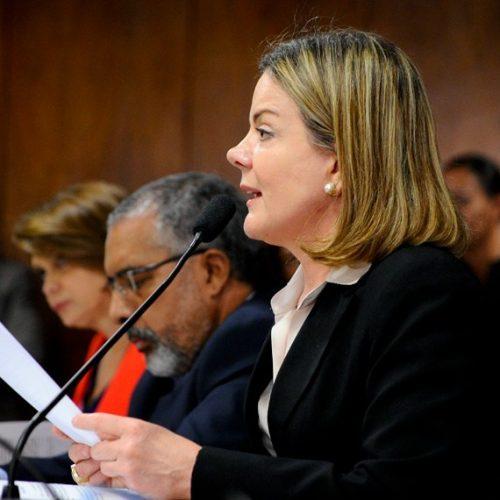 PT realiza congresso estadual com a presença de Gleisi Hoffman