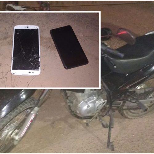 Assaltante é preso com motocicleta roubada na PI-130