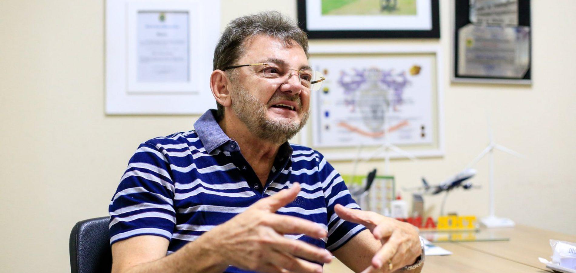 """""""Protestar sem ir às urnas é um perigo"""", diz Wilson Martins"""