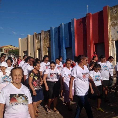 Caminhada abre Semana do Idoso em Caldeirão Grande do Piauí