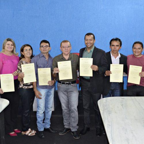 Prefeitura empossa membros do Fundo Previdenciário de Padre Marcos