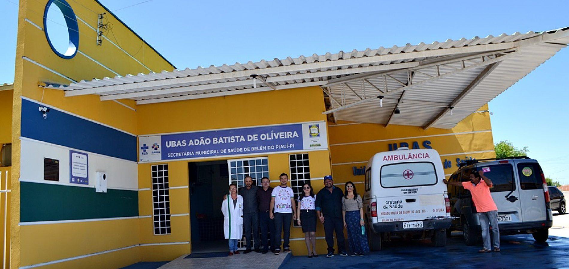 Prefeitura de Belém do Piauí reforma e implanta melhorias em Unidade Básica de Saúde