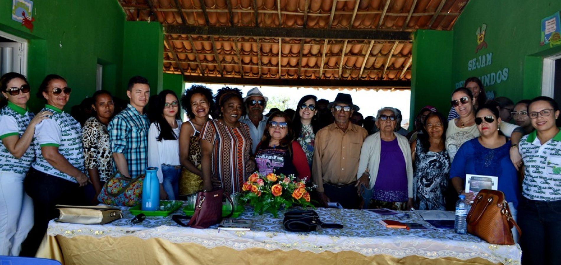 FRONTEIRAS | Comunidade Alecrim recebe ônibus lilás com ações de combate à violência contra a mulher