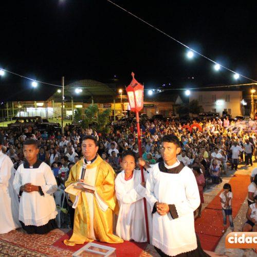 Multidão participa da primeira noite de novena da festa de Nossa Senhora das Mercês em Jaicós