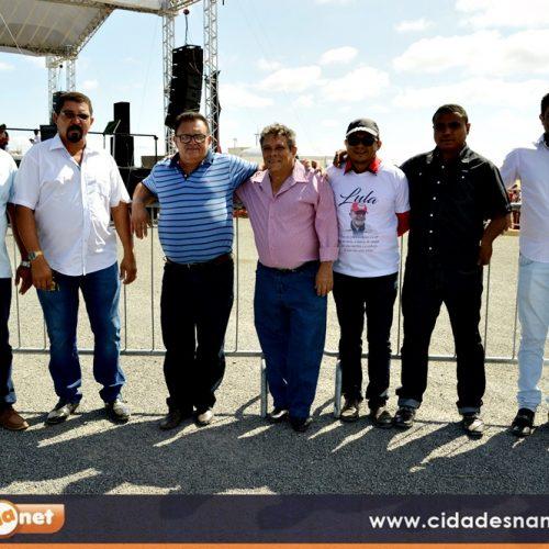 FRANCISCO MACEDO | Caravana do prefeito Nonato e líderes do PT participam de ato com Lula em Marcolândia