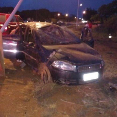 Piauiense morre e três pessoas ficam feridas após veículo capotar em Brasília