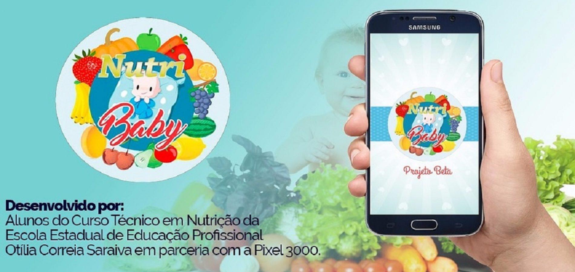 Aplicativo 'NutriBaby' desenvolvido por nutricionista natural de Vila Nova do PI é destaque nacional e internacional