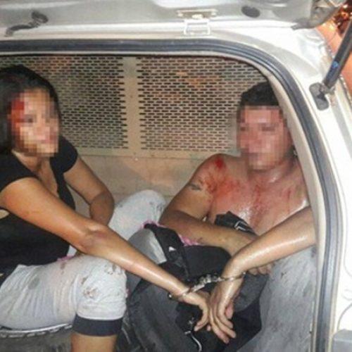 Casal é espancado e preso ao tentar assaltar clínica odontológica no Piauí