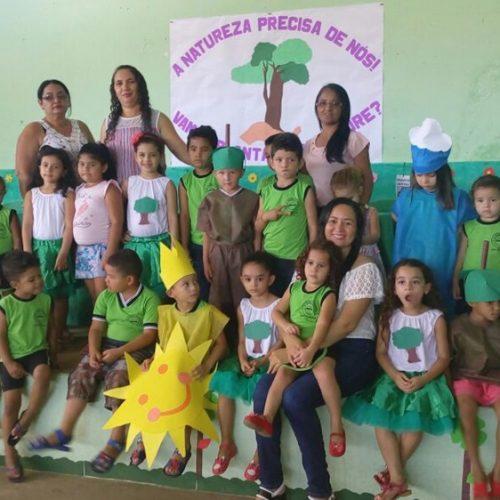 Educação de Vera Mendes desenvolve projeto alusivo ao Dia da Árvore