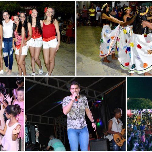 Prefeitura promove evento cultural nos festejos de Campo Grande do Piauí; veja fotos