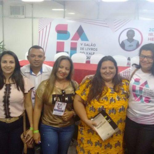 Educadores de Campo Grande do Piauí participam do V SALIVAG em Picos