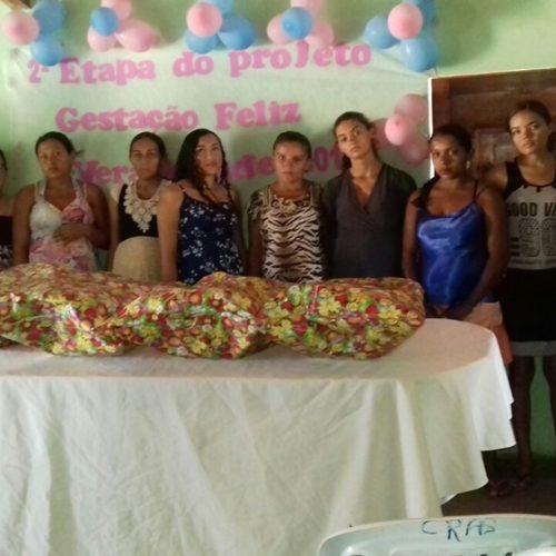 Prefeitura de Vera Mendes realiza  projeto 'Gestação Feliz' e entrega enxoval para gestantes