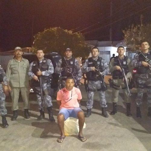 Força Tática de Paulistana prende foragido do Pernambuco