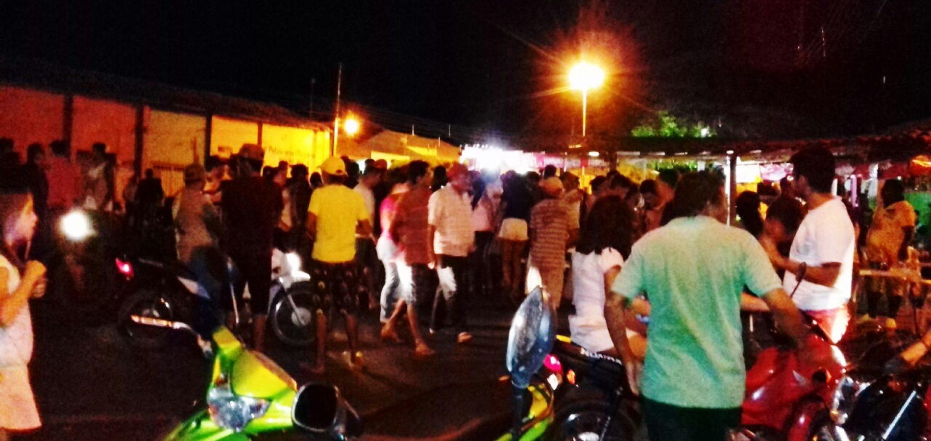 Vendedor de carros é assassinado a tiros em Alegrete do Piauí; veja fotos do local