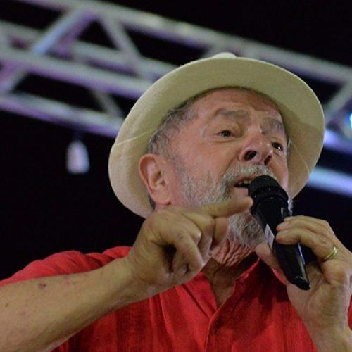 Denúncia contra Lula por campanha antecipada é encaminhada à PGE