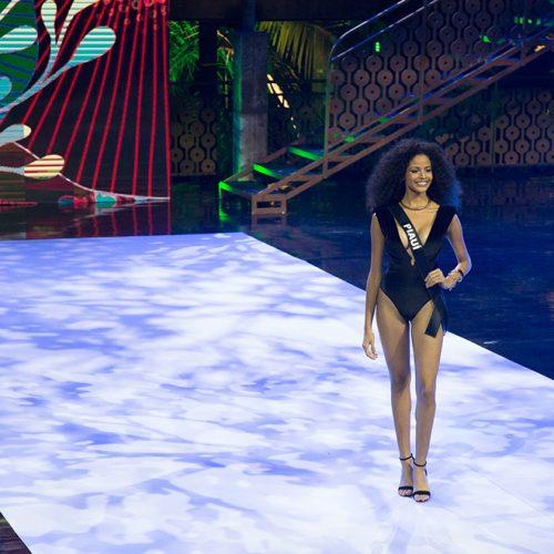Monalysa Alcântara reconhece que levou 'borogodó' para passarela do Miss Brasil