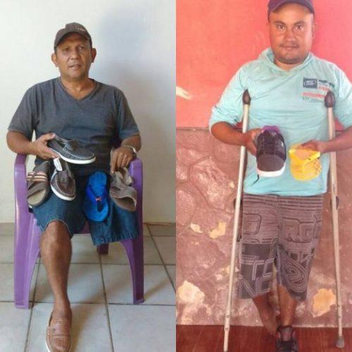ONG no Piauí distribui sapatos para quem precisa de apenas um