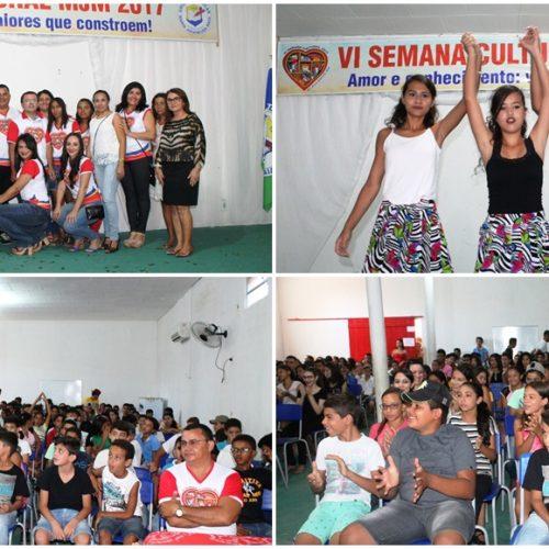 ALEGRETE | Escola municipal Maria Juceneuda Maia inicia 'VI Semana Cultural'