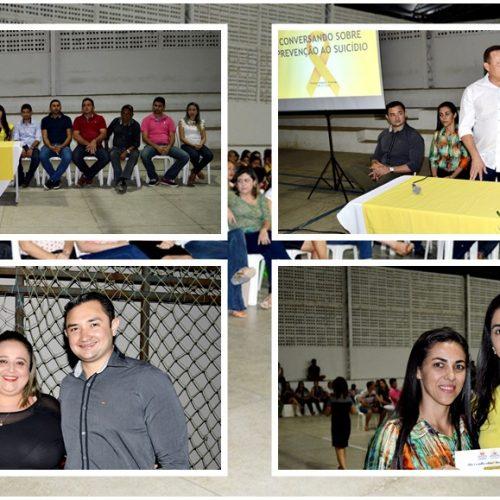 Saúde promove palestras sobre suicídio e prevenção de câncer do colo do útero em Vila Nova do Piauí
