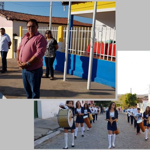 Prefeitura de Francisco Macedo realiza ato cívico em alusão o 7 de setembro