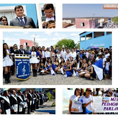 Gestão de Dr. Jonas realiza o maior Desfile Cívico de 7 de setembro da história de São Julião; veja fotos e vídeo!