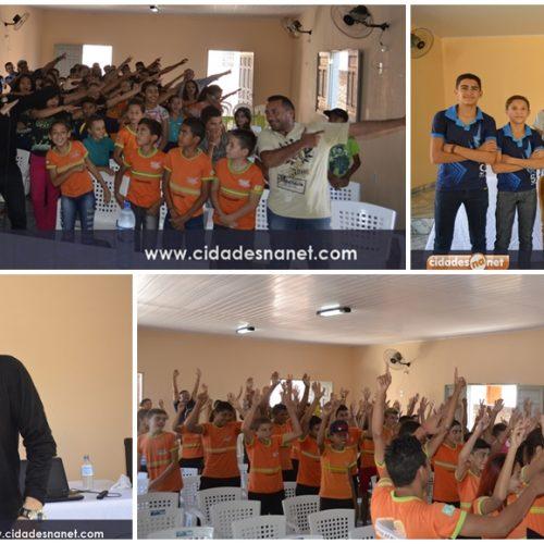 PATOS | Educação promove palestra motivacional para alunos que farão a Prova Brasil