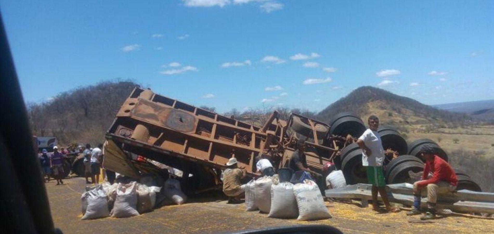 Problemas mecânicos podem ter causado acidente na BR-316 em Picos