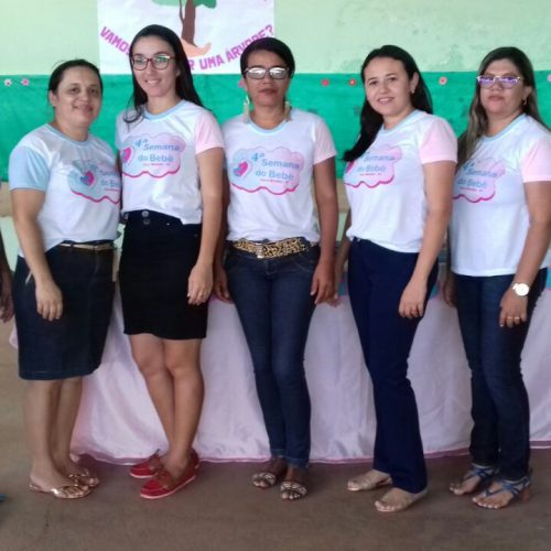 Quarto e quinto dia da Semana do Bebê em Vera Mendes é marcado por atividades psicomotoras e palestra