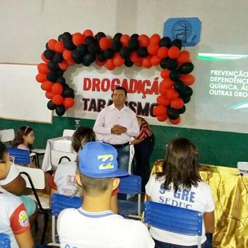 Campo Grande   Estudantes desenvolvem projeto sobre drogadição e tabagismo na escola João José Ramos no Povoado Km 80