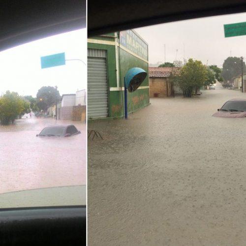 Lixo em riachos provocou enchente após chuva de 12h em Floriano, diz prefeito