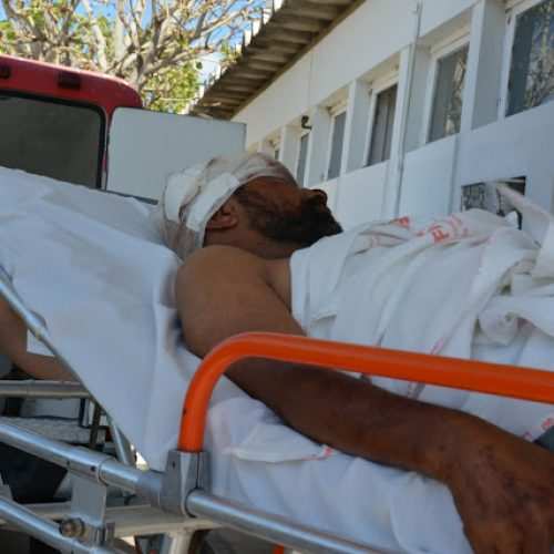 FRONTEIRAS | Homem é agredido e socorrido para Hospital em estado grave