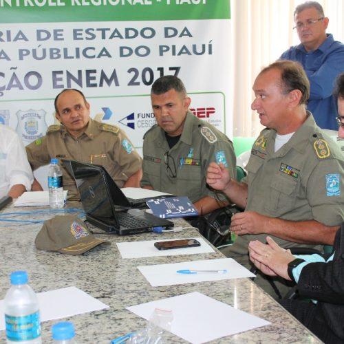 Mais de 560 PM's farão segurança durante aplicação das provas do Enem no Piauí