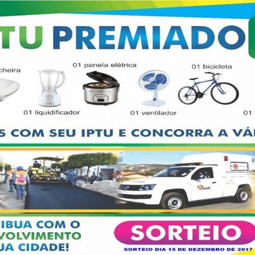 Prefeitura de Massapê do PI lança campanha IPTU Premiado e vai sortear 8 prêmios entre contribuintes