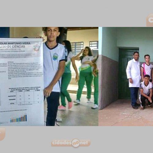 PATOS | Unidade Escolar Martinho Vieira participa do III circuito de Ciências promovido pela SEDUC