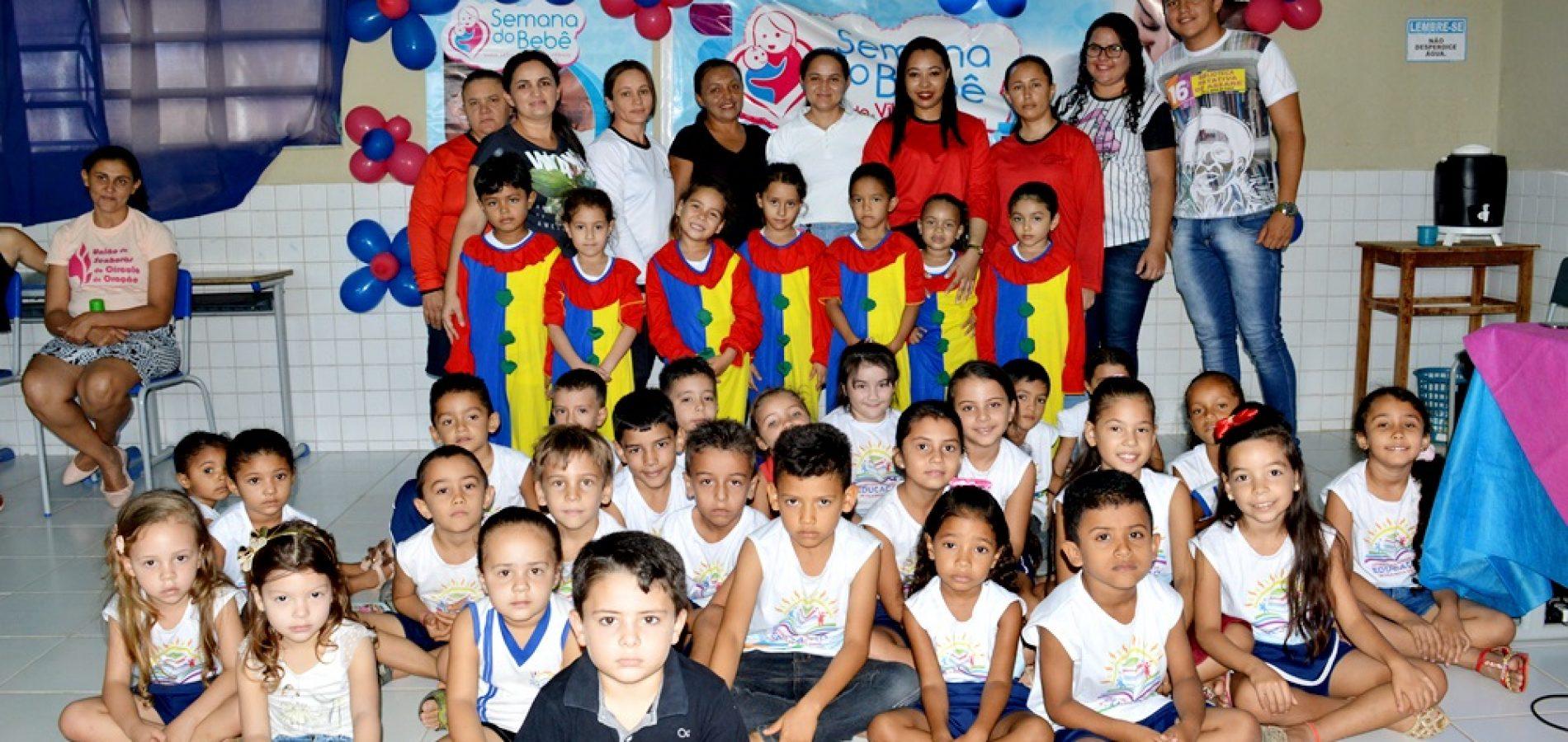 VILA NOVA | Educação e cultura realizam atividades no 2º dia da VII Semana do Bebê; fotos