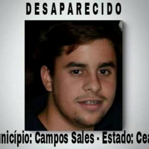 Desaparecimento de jovem em Campos Sales comove toda a região