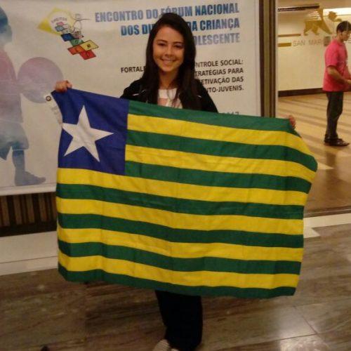 Vilanovense representa o Piauí, em Encontro Nacional do Fórum dos Direitos da Criança e do Adolescente em Brasília