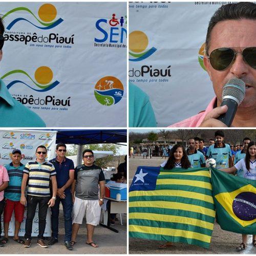 Campeonato Municipal é aberto em Massapê do Piauí; 12 times disputam título de melhor em 2017