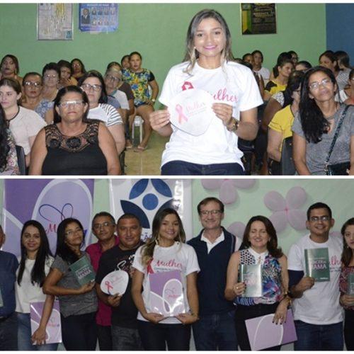 PP Mulher promove  encontro sobre cuidados com a saúde e beleza da mulher em Massapê do Piauí