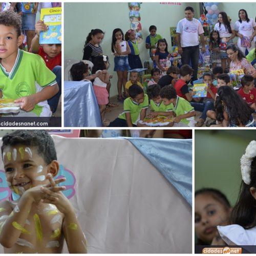 Entrega de Biblioteca Infantil e Festival de Sorvete encerram a 4ª Semana do Bebê em Vera Mendes