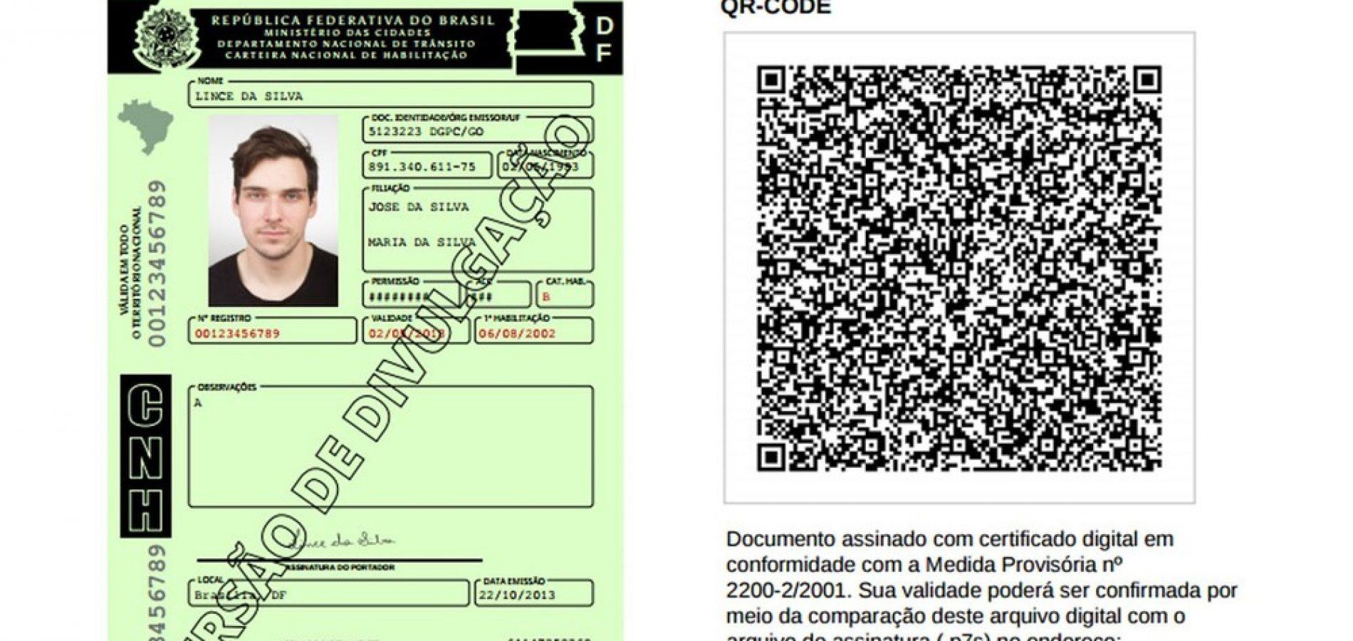 Sistema da CNH digital no Piauí está em fase de testes; veja como vai funcionar