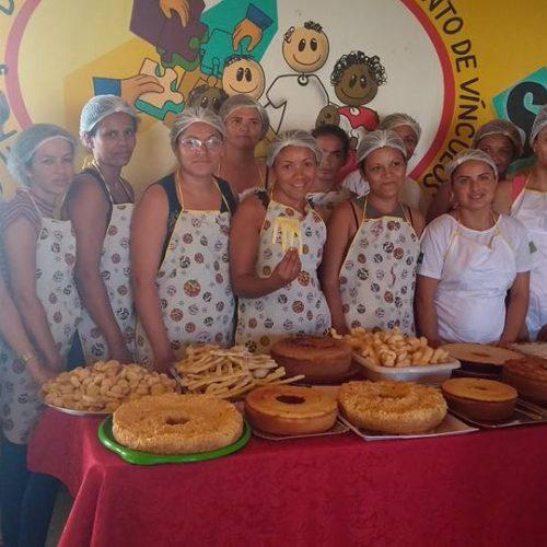 Assistência Social de Caldeirão Grande promove curso de bolos