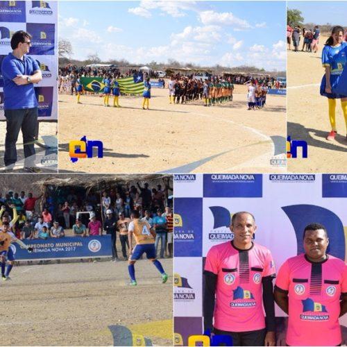 Prefeitura de Queimada Nova inicia campeonato Municipal de Futebol amador