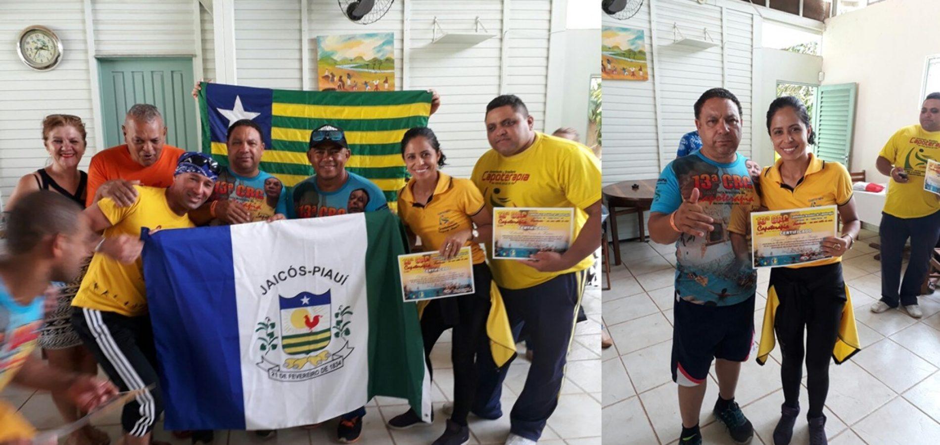 Capoterapeuta de Jaicós participa de Conferência Brasileira de Capoterapia em Goiás