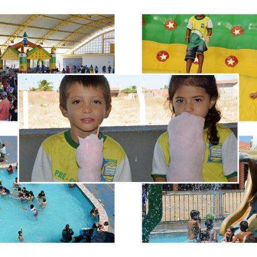 Educação de Belém do PI promove sexta-feira especial em comemoração ao Dia das Crianças; veja fotos