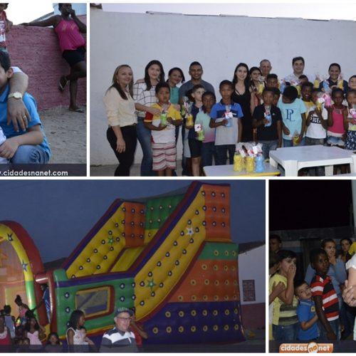 Prefeito Valdinar promove festa para crianças carentes no interior de Padre Marcos