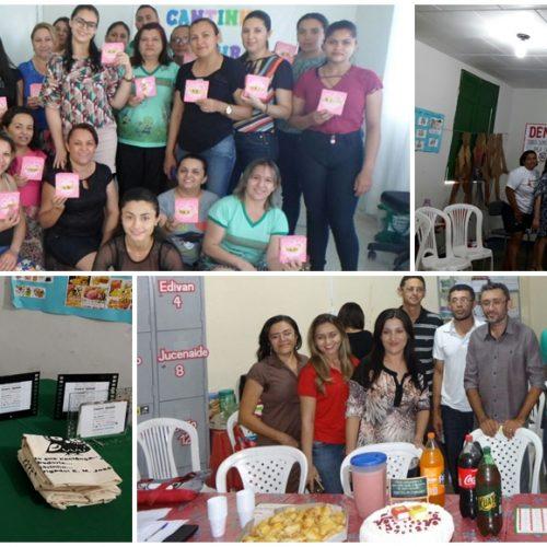 Educação de Belém do Piauí  promove formação continuada e homenageia professores