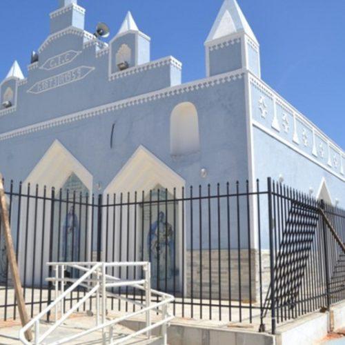 Visando combater o vandalismo, Igreja Católica de São Julião instala grades de proteção