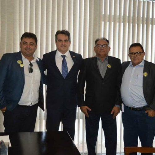 Prefeito Nonato se reúne com o senador Ciro Nogueira em Brasília e reivindica melhorias para Francisco Macedo