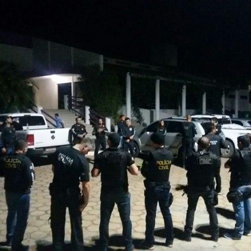 Sete pessoas são presas na operação Chapadinha deflagrada no Sul do Piauí